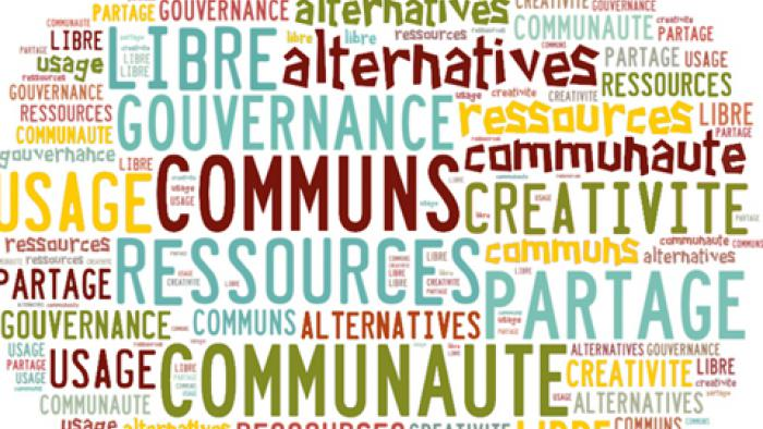 Réflexions sur les communs et sur le pic d'Hubbert