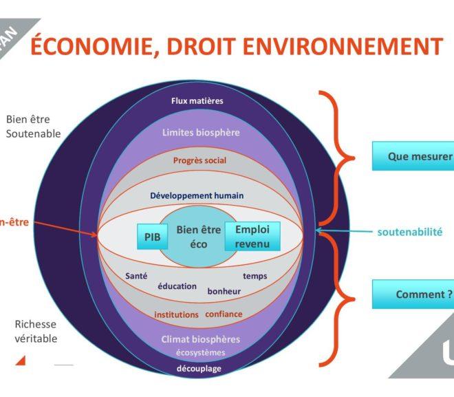 réflexions sur l'écologie, l'économie et le droit